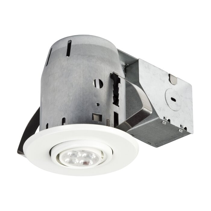 Globe electric company ic rated swivel 3 recessed lighting kit ic rated swivel 3 recessed lighting kit mozeypictures Gallery