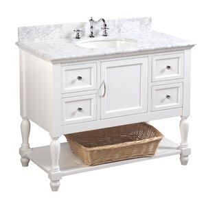 Beverly 42″ Single Bathroom Vanity Set