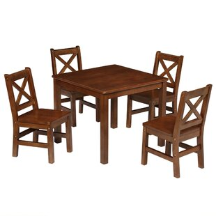 Kids 5 Piece Square Table and Chair Set  sc 1 st  Wayfair & Kids\u0027 Table and Chairs You\u0027ll Love | Wayfair