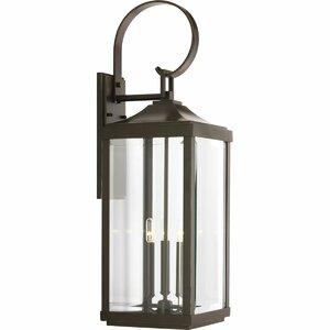 Willis 3-Light Outdoor Wall Lantern