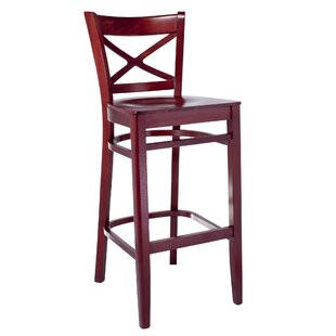 Helmuth Cross Back 30 Bar Stool