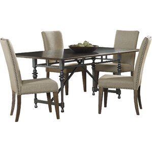 Haddan 5 Piece Dining Set by Darby Home Co