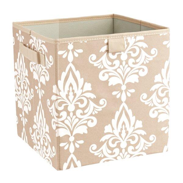 ClosetMaid Premium 2 Handle Storage Bin In Damask French Vanilla U0026 Reviews  | Wayfair