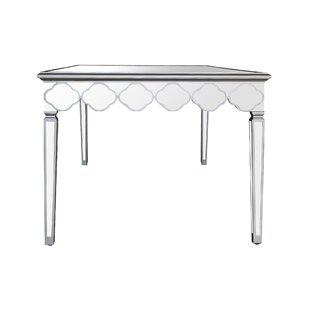 Delightful Naccarato Mirrored Dining Table