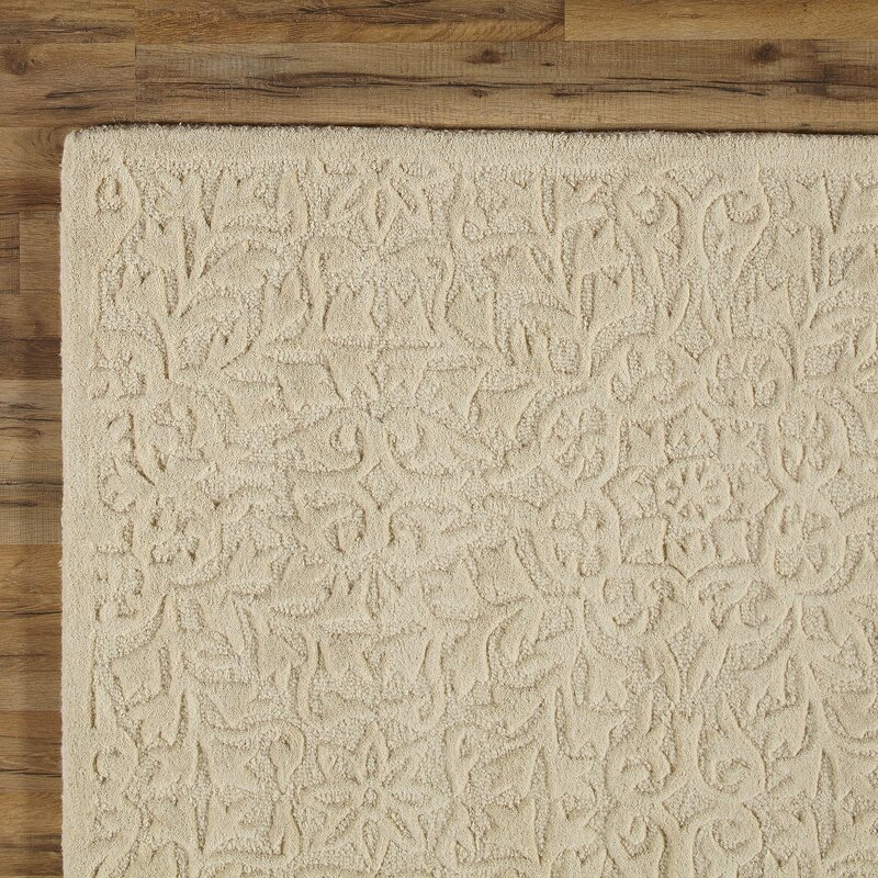 Birch Lane Heritage Naomi Hand Tufted Wool Ivory Area Rug Reviews