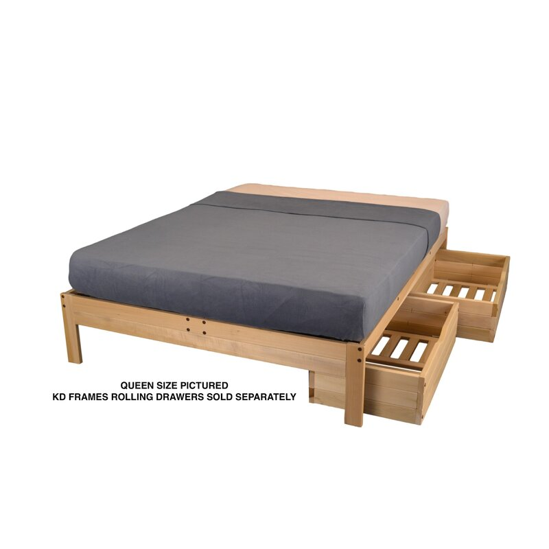 Winston Porter Wynter Platform Bed | Wayfair
