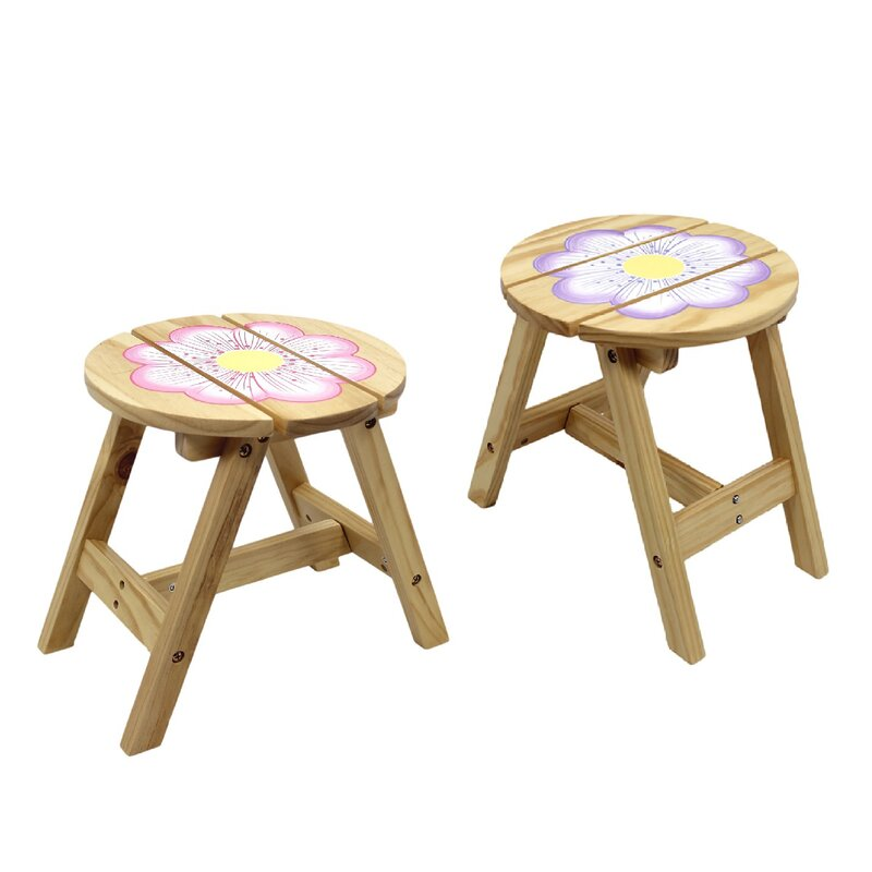 Fantasy fields kids 3 piece round table and chair set for Round table 85 ortenau