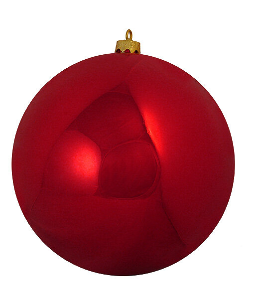 The Holiday Aisle Shatterproof Shiny Christmas Ball Ornament & Reviews | Wayfair