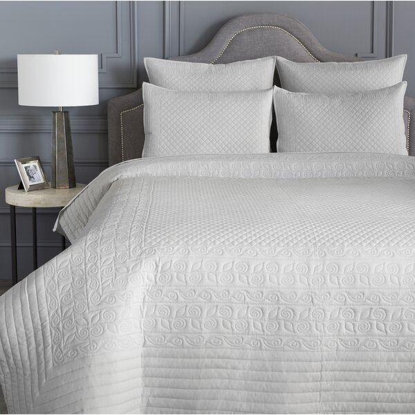 Tufted Quilted Coverlet   Wayfair