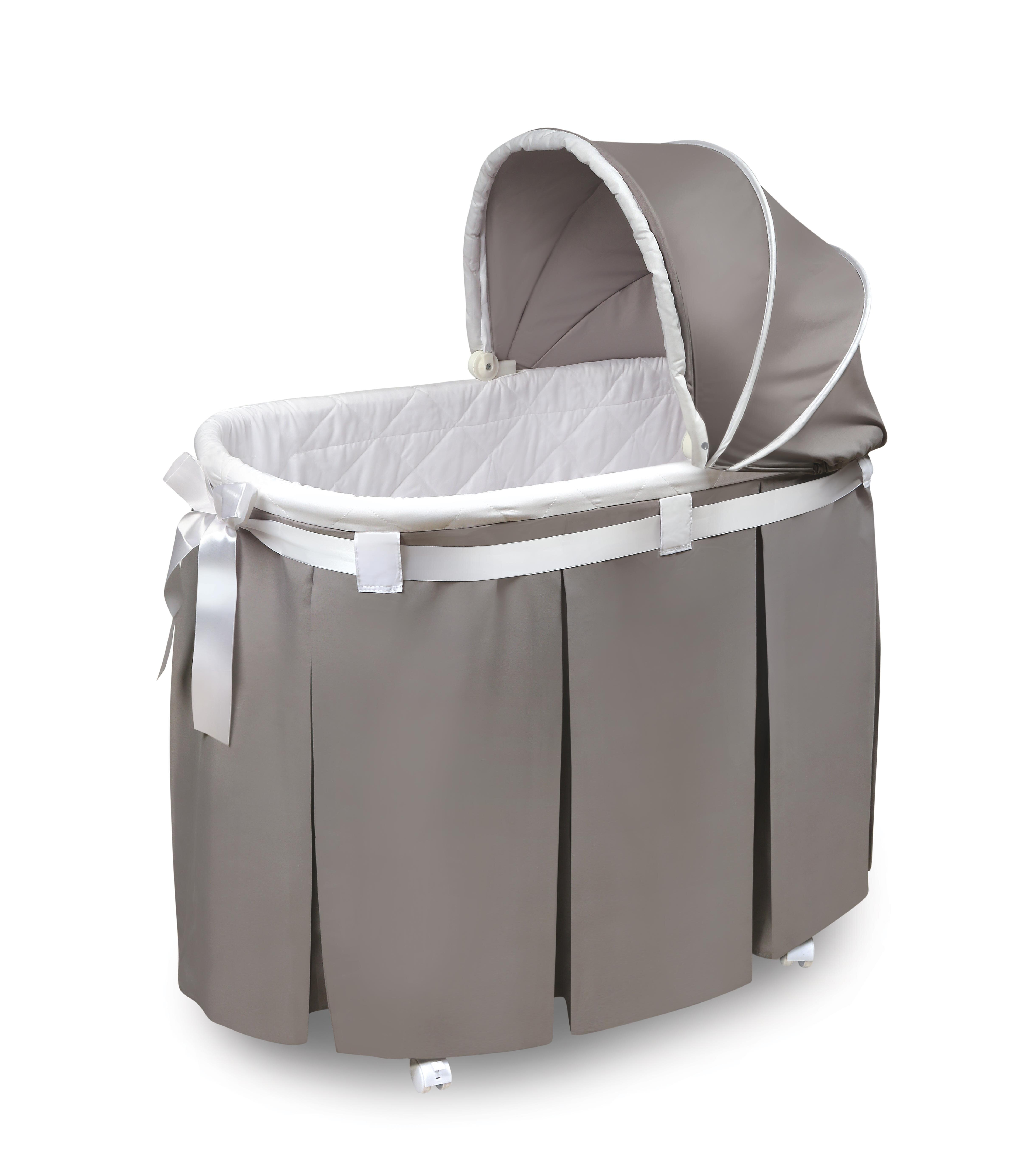 Bon Badger Basket Wishes Oval Bassinet U0026 Reviews | Wayfair