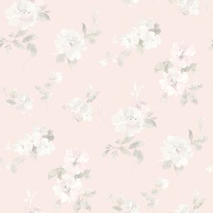 Hide and Seek Captiva Toss 33' x 20.5 Floral and Botanical 3D Embossed Wallpaper