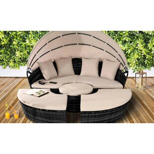 Jalyn Garden Daybed with Cushions by Lynton Garden