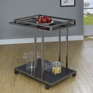 Henrike Serving Bar Cart by Latitude Run