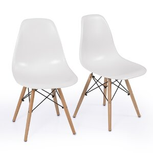 Lillian Solid Wood Dining Chair (Set of 2) by Langley Street