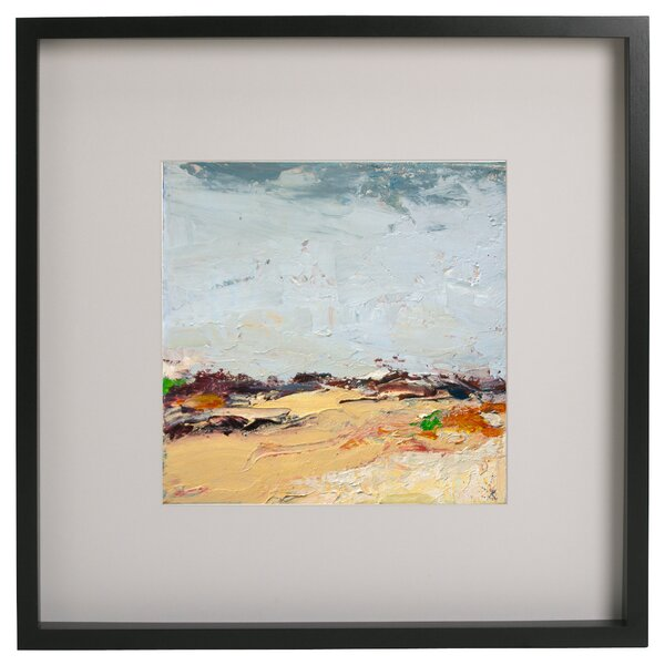Highland Dunes \'Abstract Series VII\' Framed Acrylic Painting Print ...