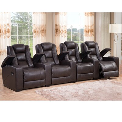 Midway Leather Home Theatre Recliner  sc 1 st  Wayfair.ca & Theatre Seating Youu0027ll Love | Wayfair.ca islam-shia.org