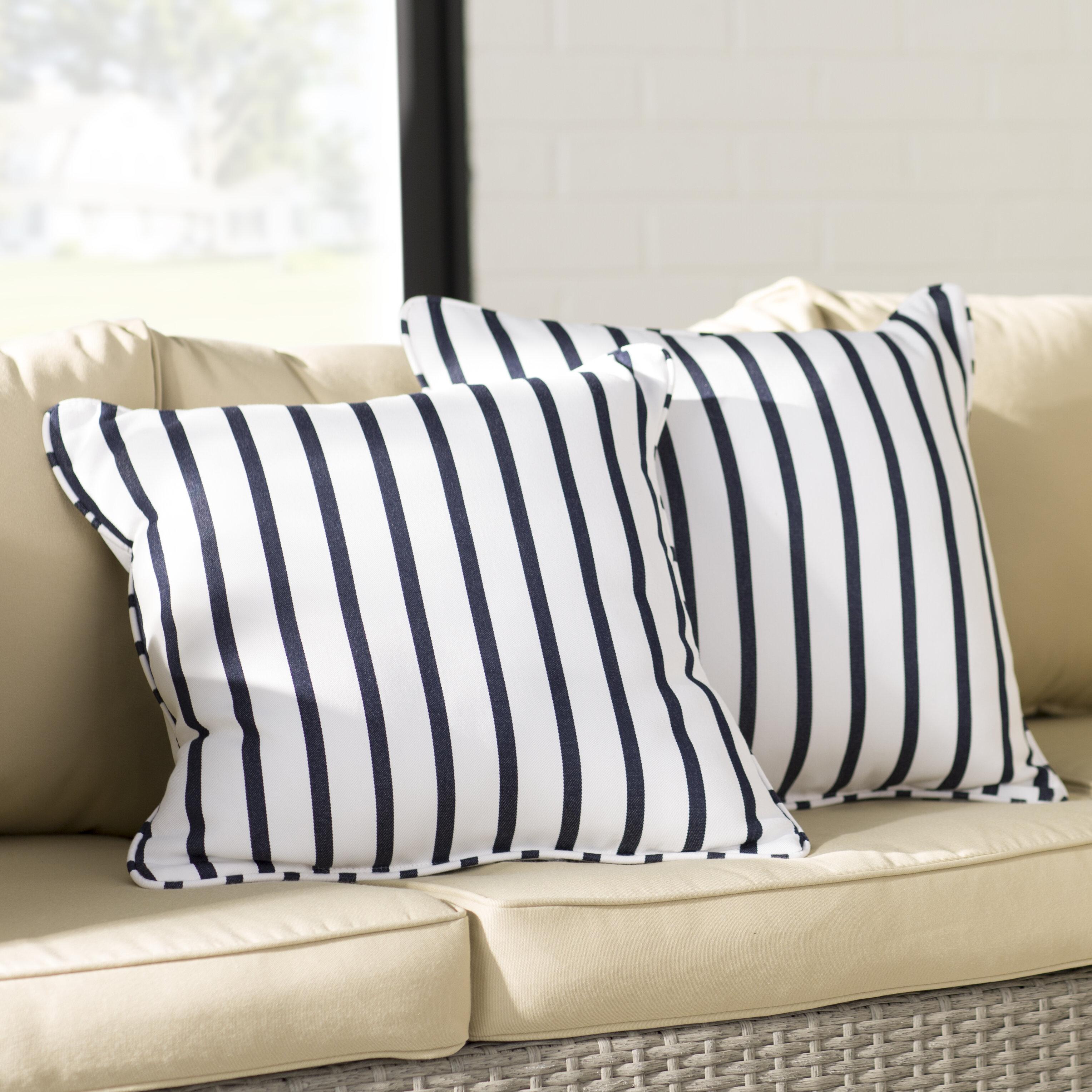 Mercury Row Bulter Indoor/Outdoor Sunbrella Throw Pillow U0026 Reviews | Wayfair
