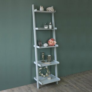 Angela Wooden Ladder Bookcase