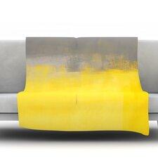 A Simple Abstract by CarolLynn Tice Fleece Throw Blanket