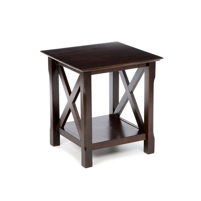 Charlton home toledo end table reviews wayfair Living room furniture toledo ohio
