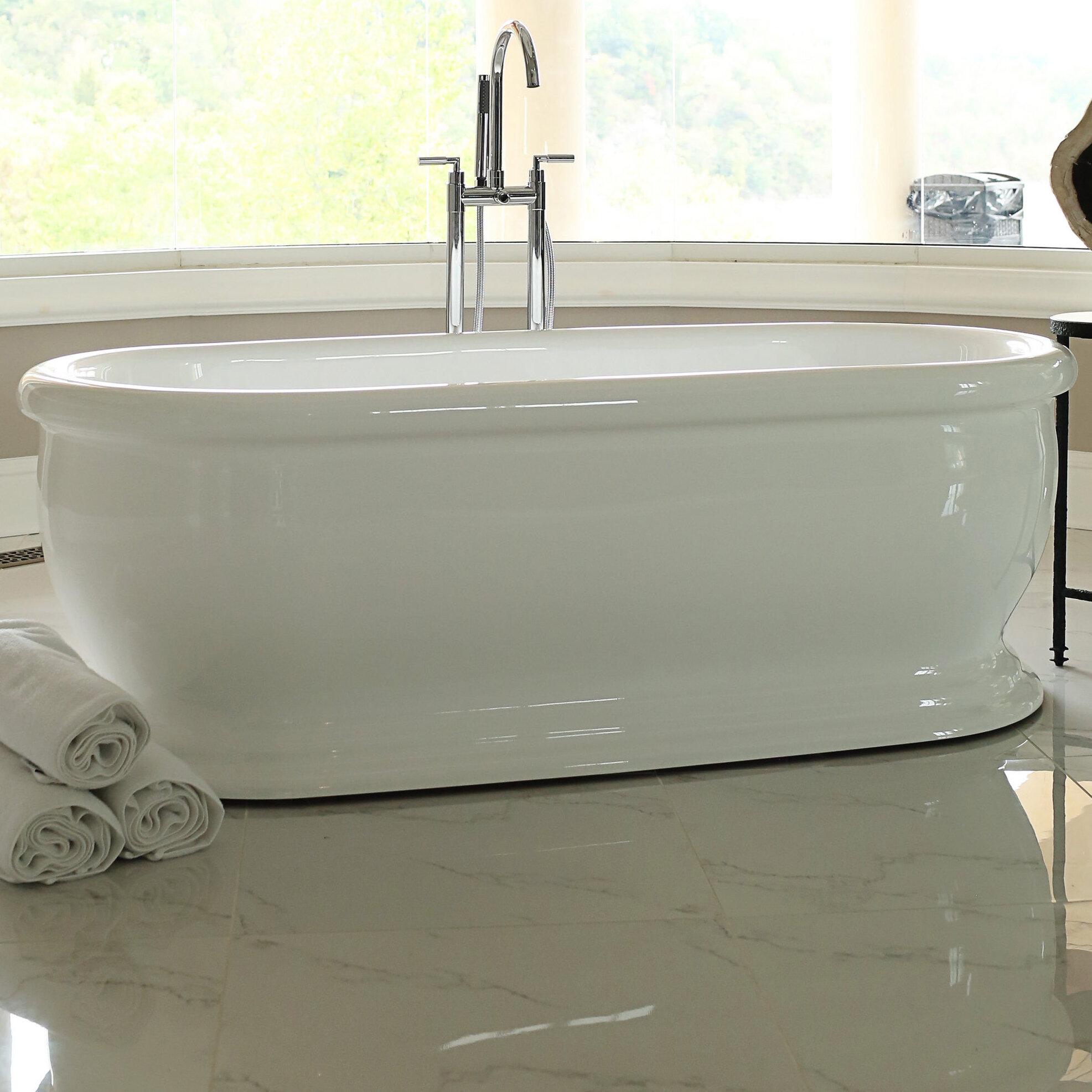 Cute Center Drain Bathtubs Pictures Inspiration - Bathtub Design ...