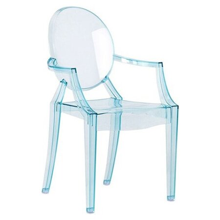 louis ghost patio dining chair reviews allmodern. Black Bedroom Furniture Sets. Home Design Ideas
