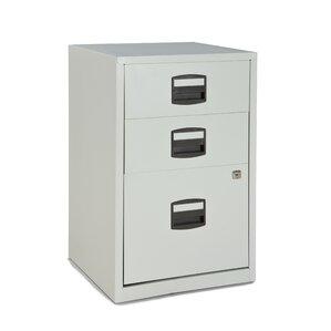 Castaneda 3 Drawer Steel Home Or Office Filing Cabinet