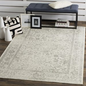 Adrienne Ivory Silver Area Rug