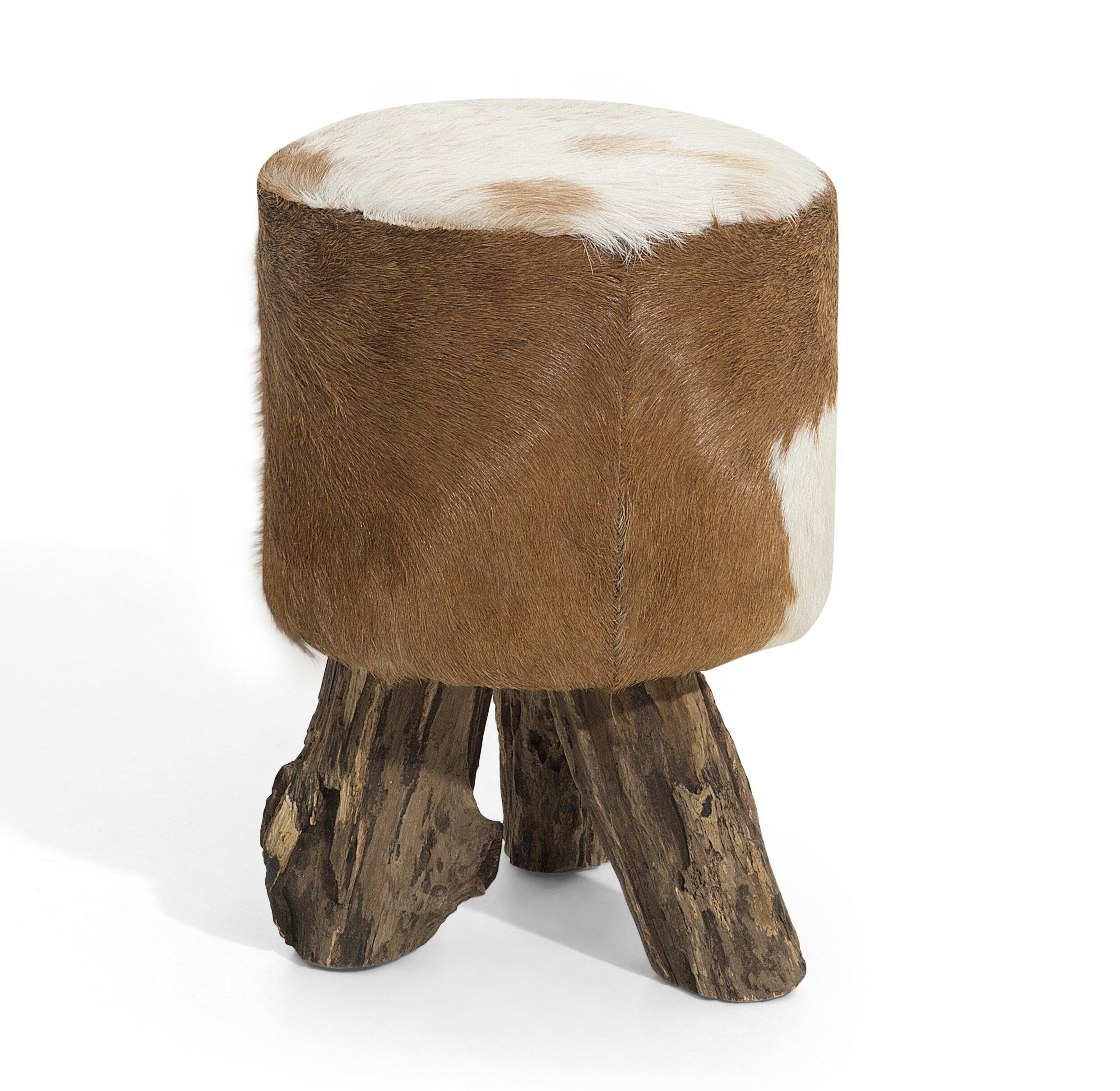 Tico Leather Footstool