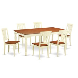 Dover 7 Piece Dining Set by Wooden Import..