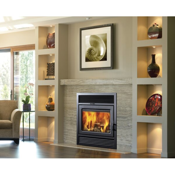 Supreme Fireplaces Inc Galaxy Recessed Wall Mounted Wood