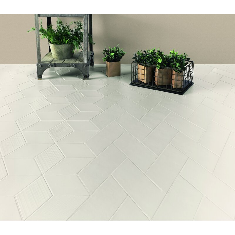 Walkon Tile Cement Series 4 X 10 Porcelain Subway Tile In Off