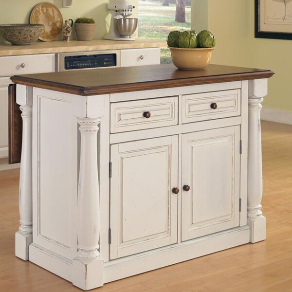Kitchen Island laurel foundry modern farmhouse giulia kitchen island & reviews
