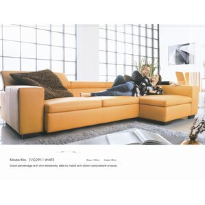 Orren Ellis Buie Sleeper Sectional