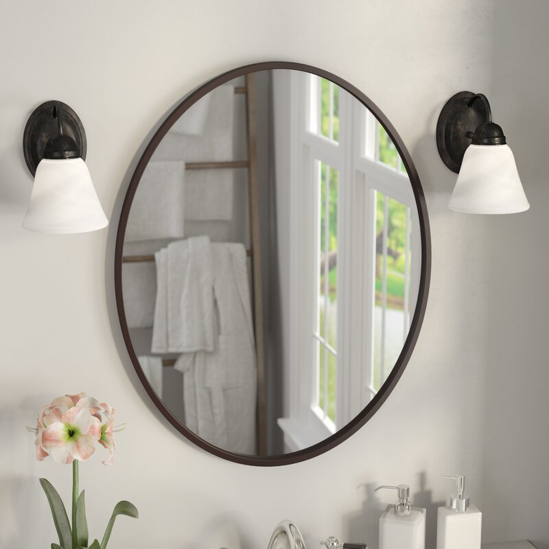 Delicieux Lincolnwood Oval Bathroom/Vanity Mirror