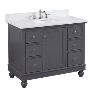 Save Kitchen Bath Collection Bella 42 Single Bathroom Vanity Set