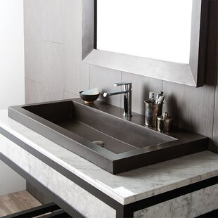 Bathroom Trough Sink | Bathroom Double Trough Sink Wayfair