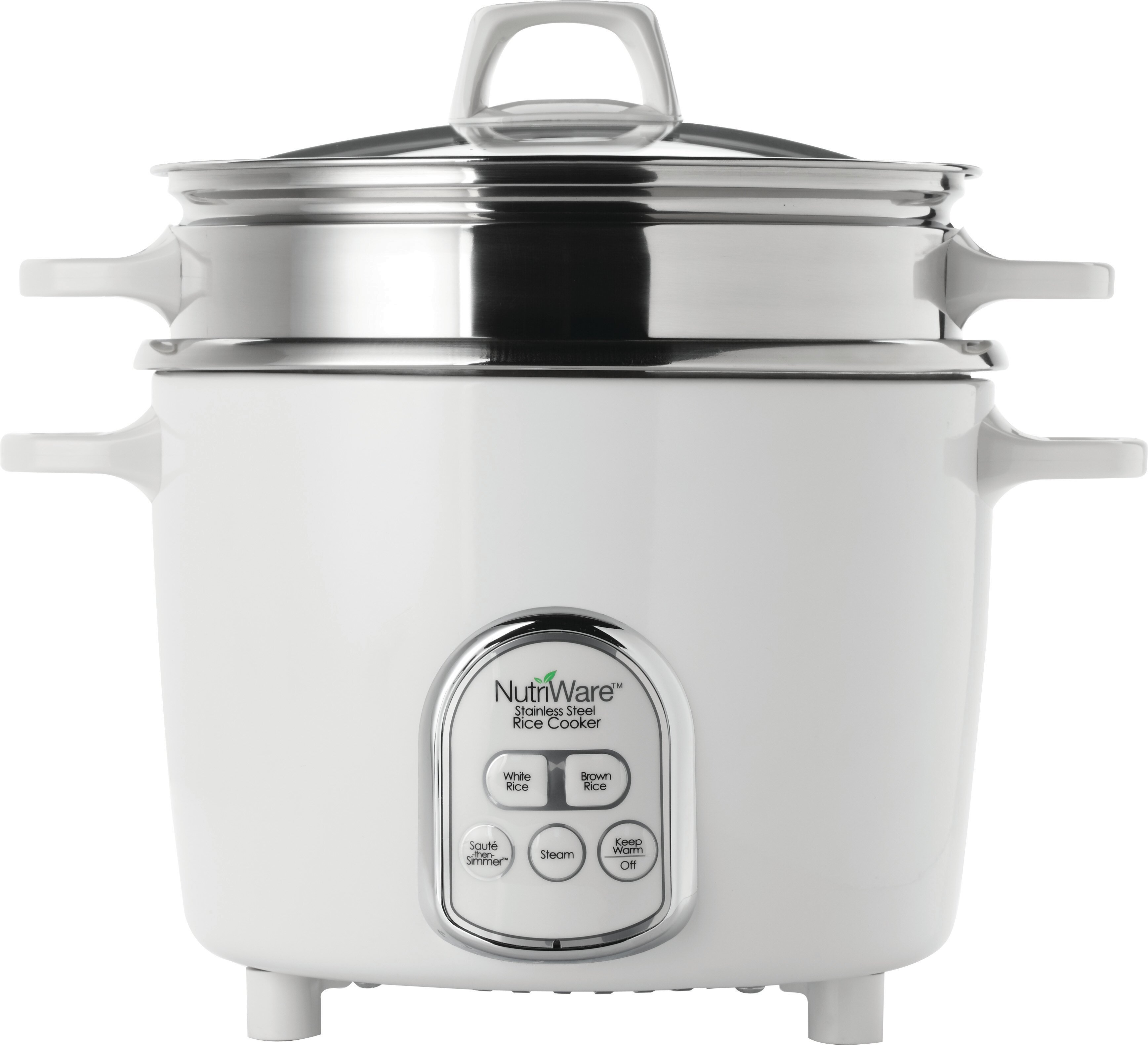 Aroma NutriWare Pot Style Digital Rice Cooker with Exposed Steam ...
