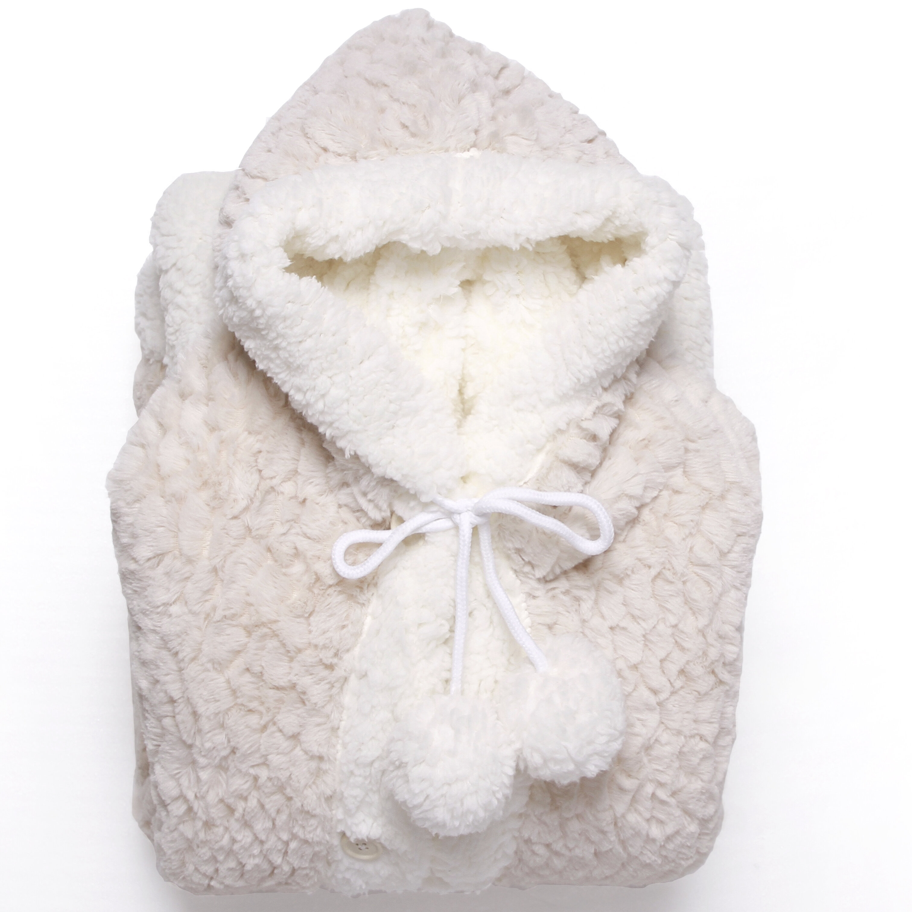 3e9e5a0c23 Chic Home Mosaic Ultra Plush Sherpa Lined Snuggle Up Animal Print Hoodie  Wearable Faux Fur Blanket   Reviews