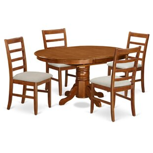 Emmaline 5 Piece Dining Set