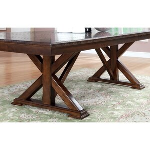 New England Extendable Dining Table by Ho..