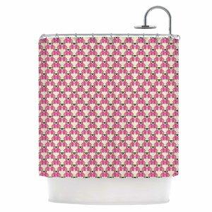 Rosea Shower Curtain