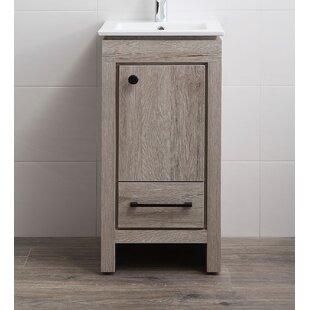 18 inch vanities you ll love wayfair rh wayfair com 18 inch deep bathroom vanity cabinet