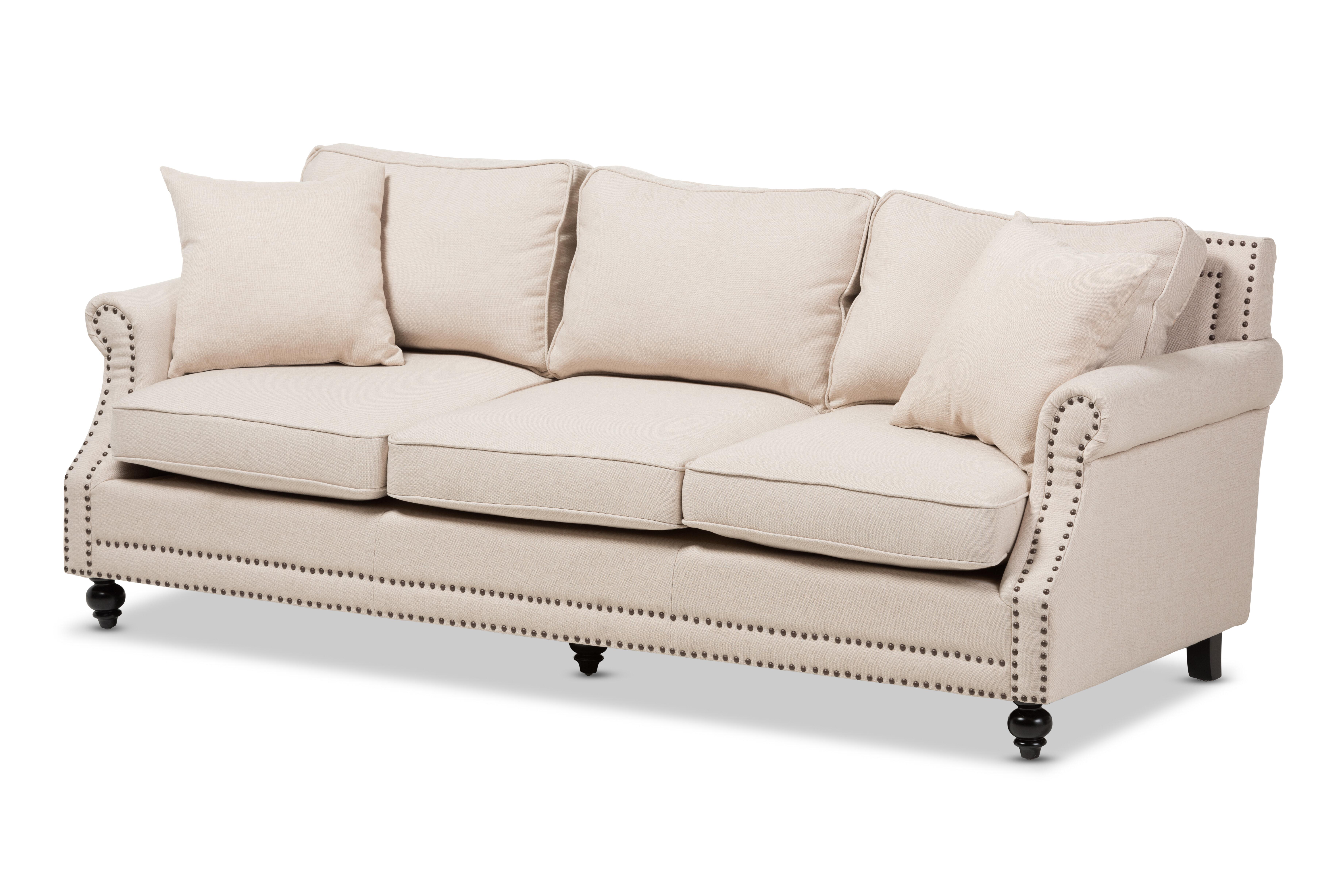 Great Wholesale Interiors Baxton Studio Mckenna Sofa U0026 Reviews | Wayfair