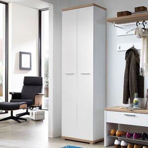 Garderobenschrank Top, 200 cm H x 59 cm B x 34 cm T von Urban Designs