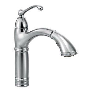 Moen Brookshire Single Handle Single Hole Kitchen Faucet