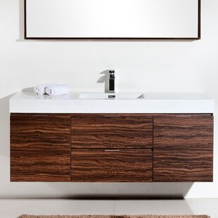 wall mounted floating bathroom vanities - Wall Mounted Bathroom Vanity