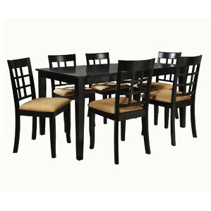 Oneill Modern 7 Piece Dining Set