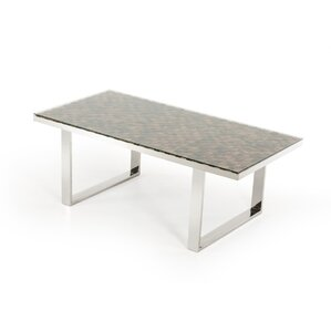 Clower Modern Wood Top Dining Table by Orren Ellis