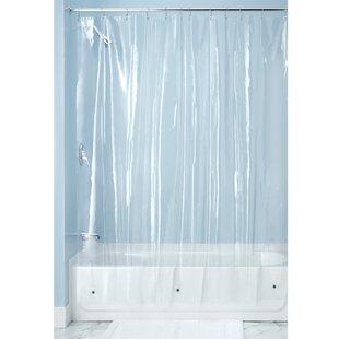Bridgett Vinyl Shower Curtain Liner